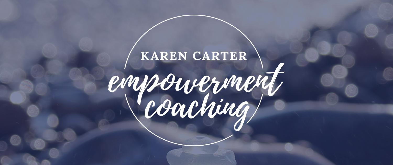 Squarespace website & logo design for empowerment coach