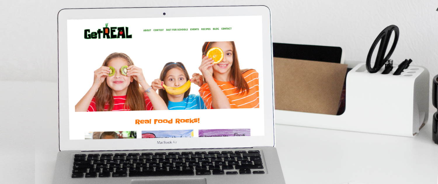 Nutrition for kids new website on squarespace
