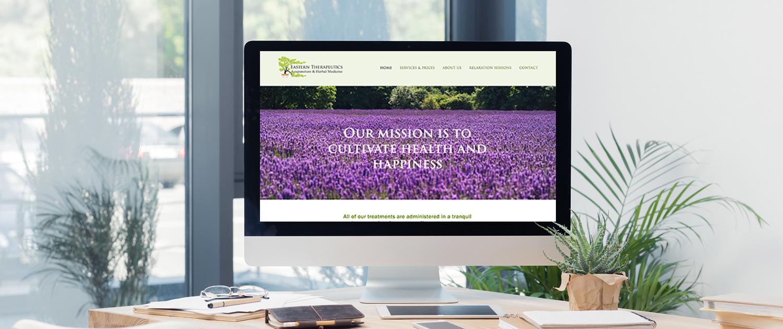 Massachusetts acpuncture website on Squarespace