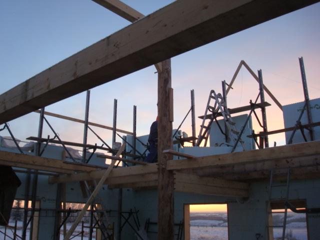 Timber Frame/ICF Hybrid