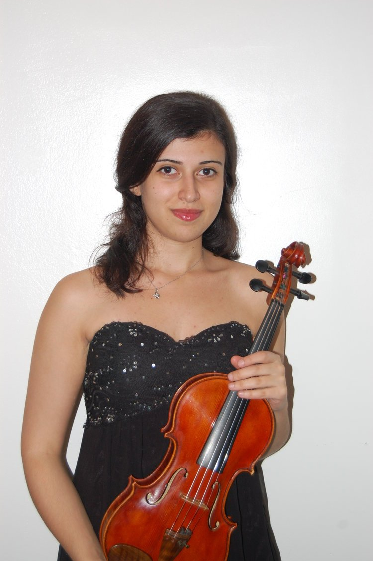 Arpine Azatyan , Violin teacher at Winchester Stage Music Center.