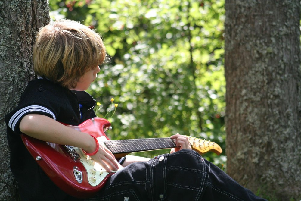 Kids who study music over the summer break  have fewer distractions and may even be able to practice on family vacations!