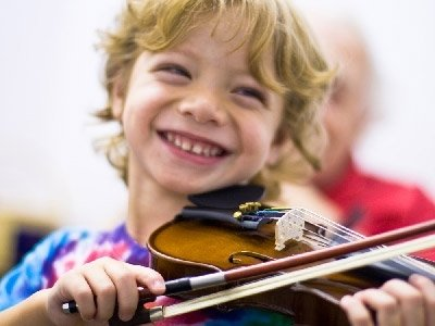 Violin lessons help improves children's bilateral integration