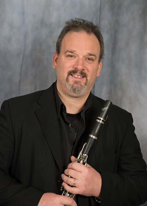 Todd Brunel , clarinet teacher at Winchester Stage Music Center.