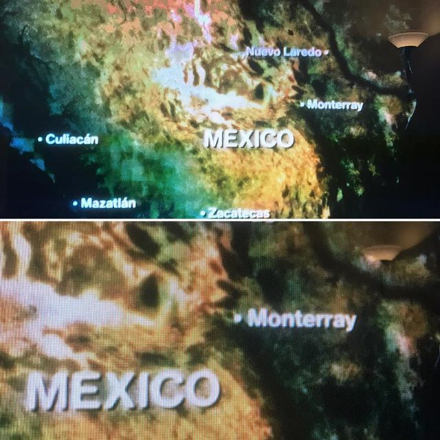 When @narcos/  @netflix misspells the city in Mexico you are from. On a show about Mexico. Monterrey.  #director #typeo #monterreymexico #show  #narcosmexico #narcos #netflix #mexico #tvshows #monterrey #nuevoleon #netflixshows #misspelled
