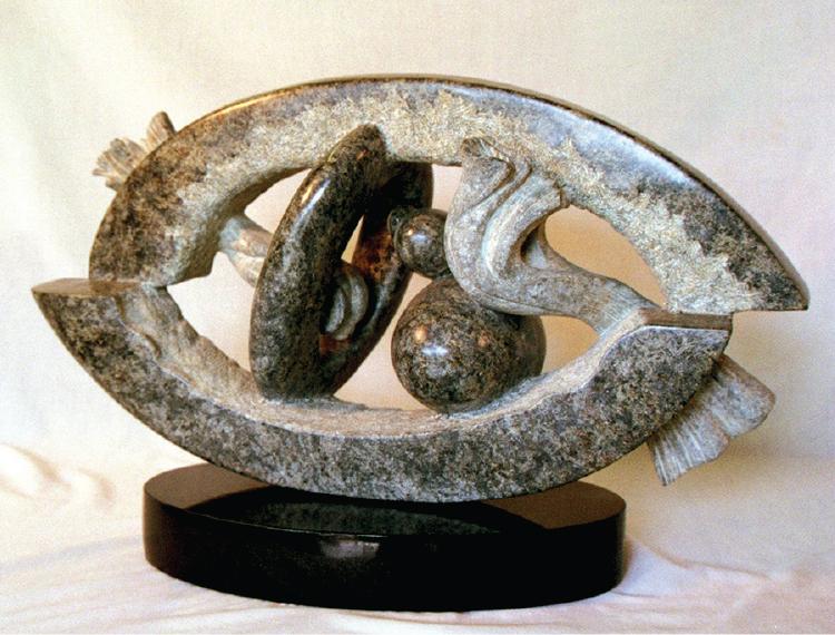 Dean Richard Leary,  Primordial , stone