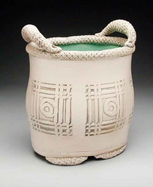 Adrina Richard, Handbuilt porcelain vase