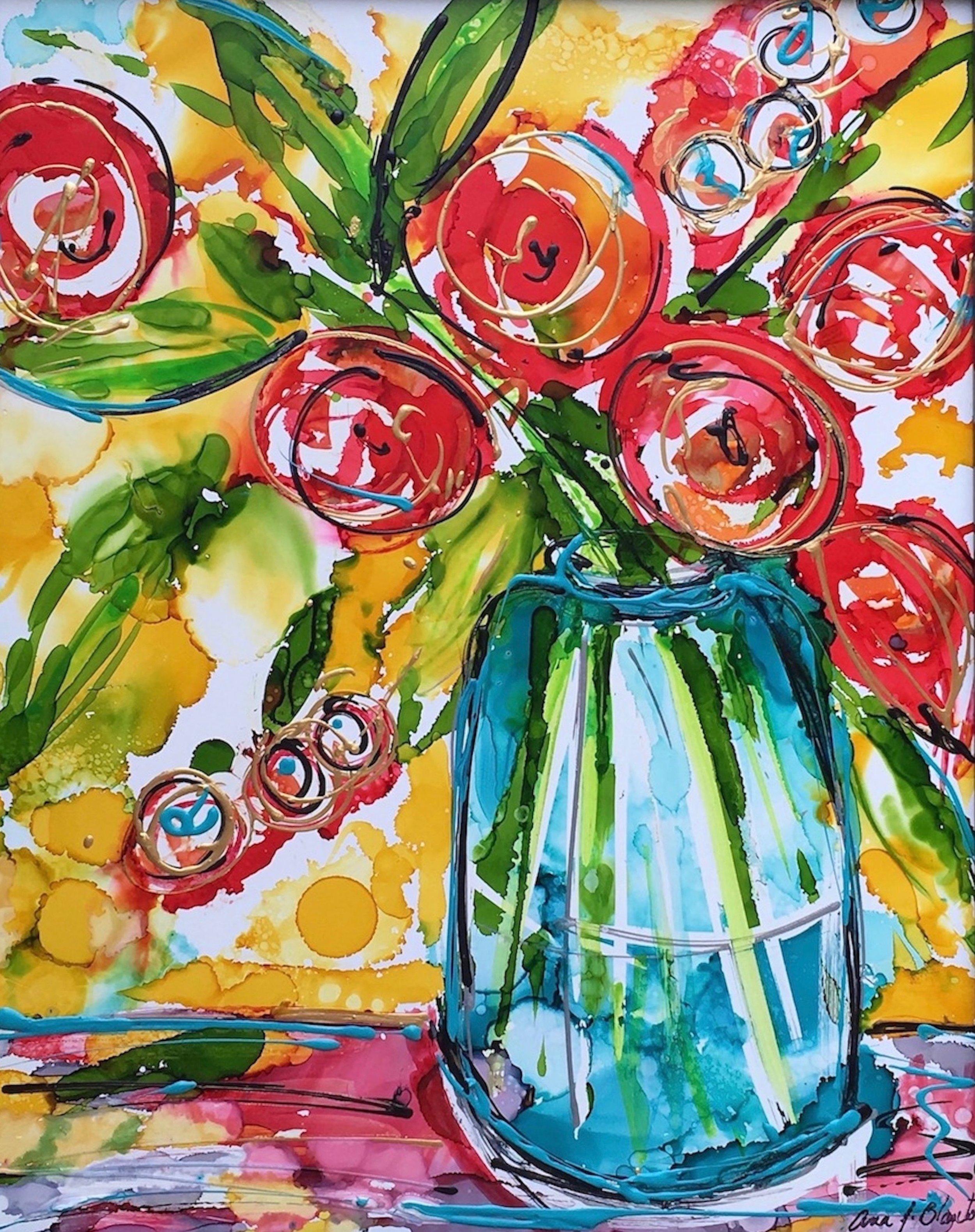 Ana J. Blanton,  Flowers and Sunlight