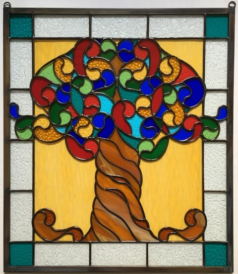 Lizzie Bailey - Image: Tree of LifeLizzie Bailey is a versatile stained-glass artist and photographer. She finds inspiration as she views traditional and architectural designs through the eye of her lens and world travels. Her latest signature pieces reflect her visits to countries throughout Europe, Asia and the Middle East.