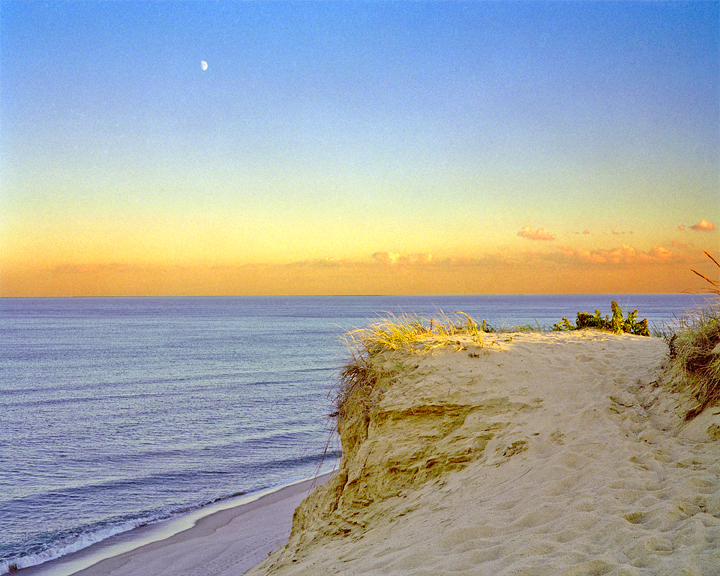 "Moon,Dune, and Tide , 2002, photograph, 16"" x 20"""