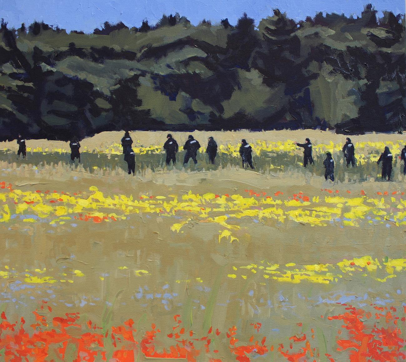 Roger Patrick,  Upstate Landscape 1 , 2016, oil on canvas