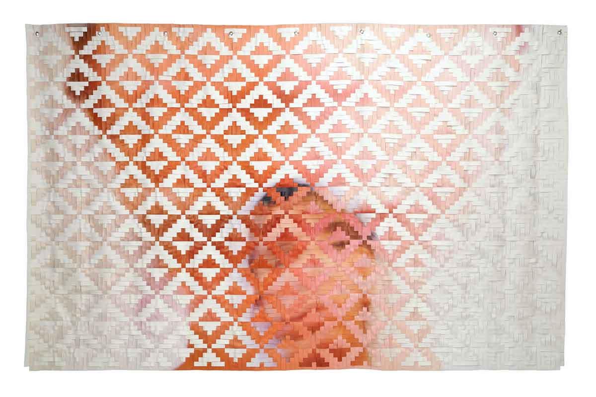 Maggie Thompson,  In Loss , 2015, vinyl, Courtesy of Joe Williams, Plains Art Museum
