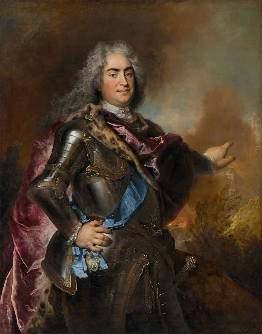 Nicolas de Largillière, French (1656–1746). Augustus the Strong, Elector of Saxony and King of Poland, about 1715. Oil on canvas. Purchase: William Rockhill Nelson Trust, 54-35.