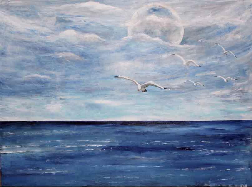 Judy Abrahams,  Ocracoke Moon