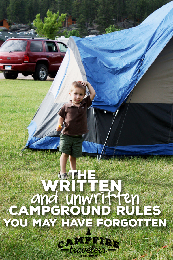 The written and unwritten campground rules you may have forgotten - Campfire Travelers