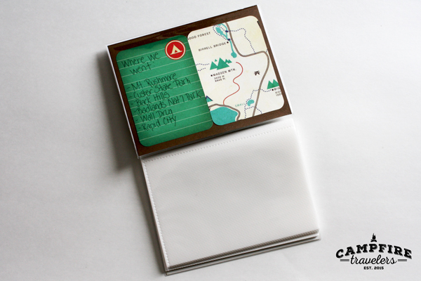 Campfire Travelers - The 5 minute kids travel scrapbook