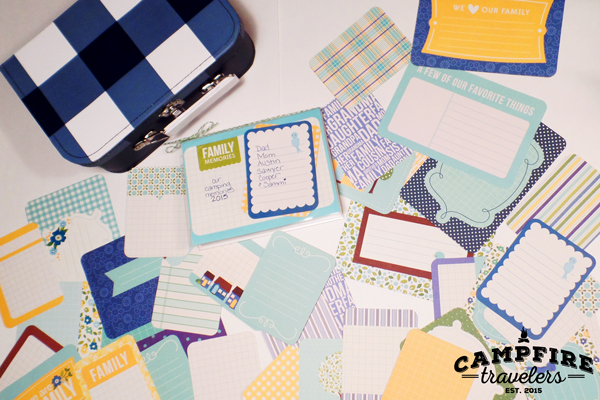 Campfire Travelers - The 5 minute on-the-go travel scrapbook