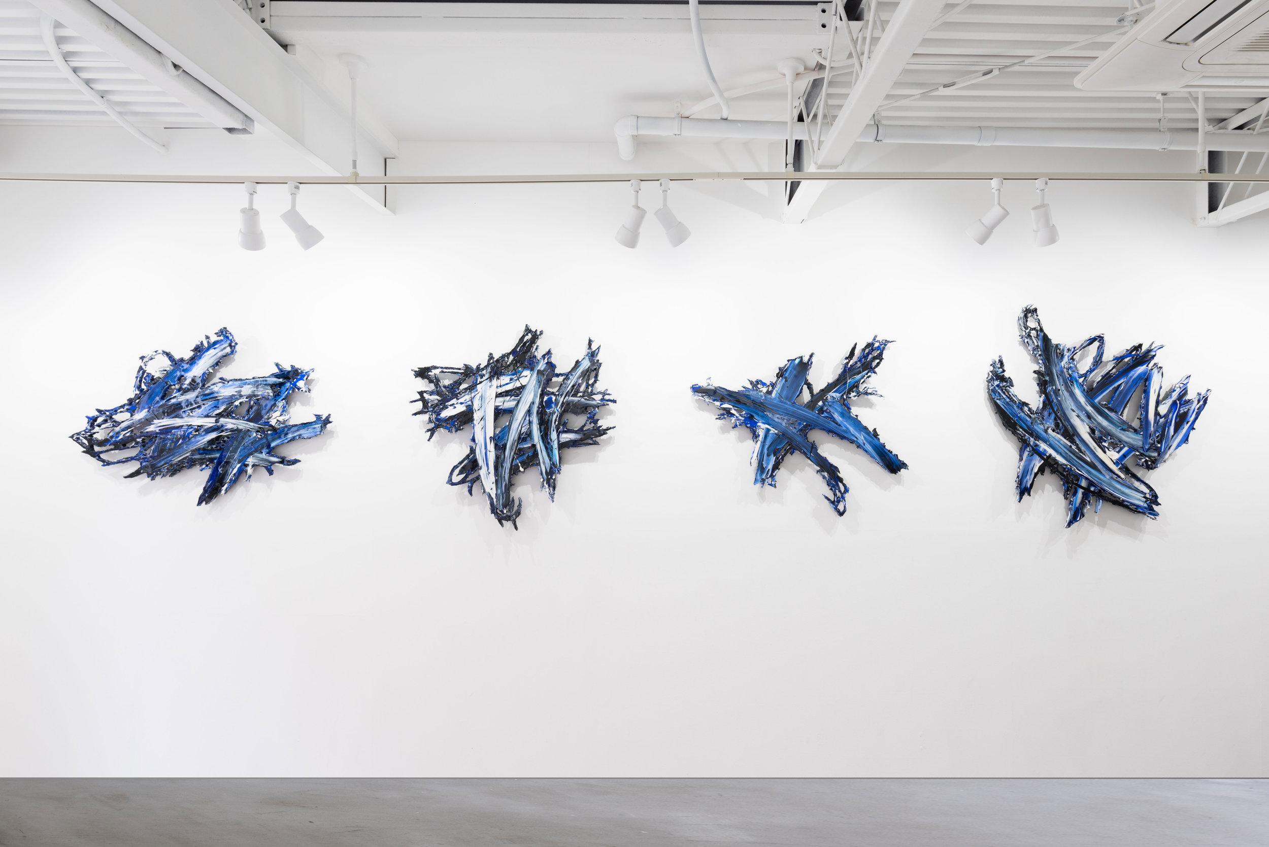 Installation View - MEGURU YAMAGUCHI EXHIBITION「イメージの力」at   QUIET NOISE  arts & break  .2017