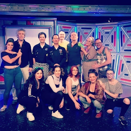After a brilliant week we say goodbye to our #returntotheforbiddenplanet cast. Thanks for a wonderful show!! #brightonfringe #brightonlife