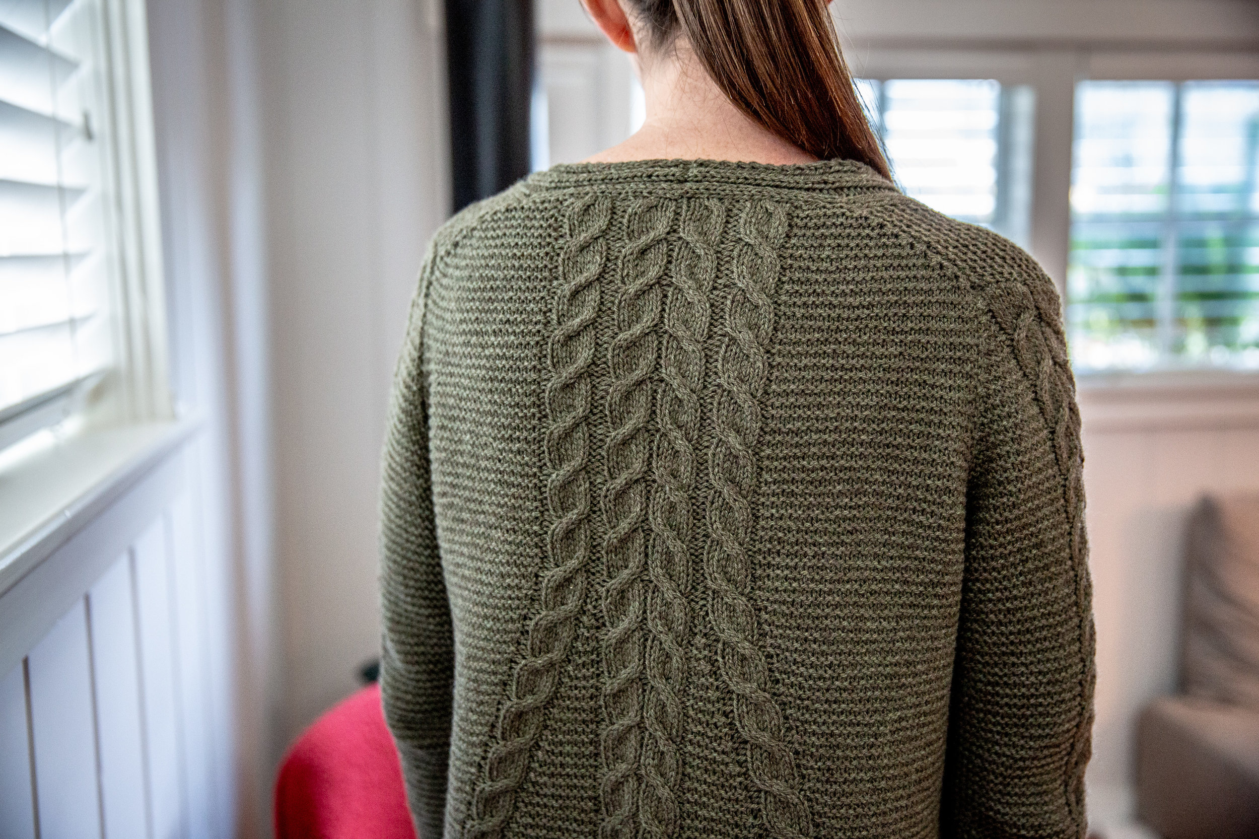You're not supposed to pick favorites amongst your children, but this is my favorite square foot of knitting from the last year.