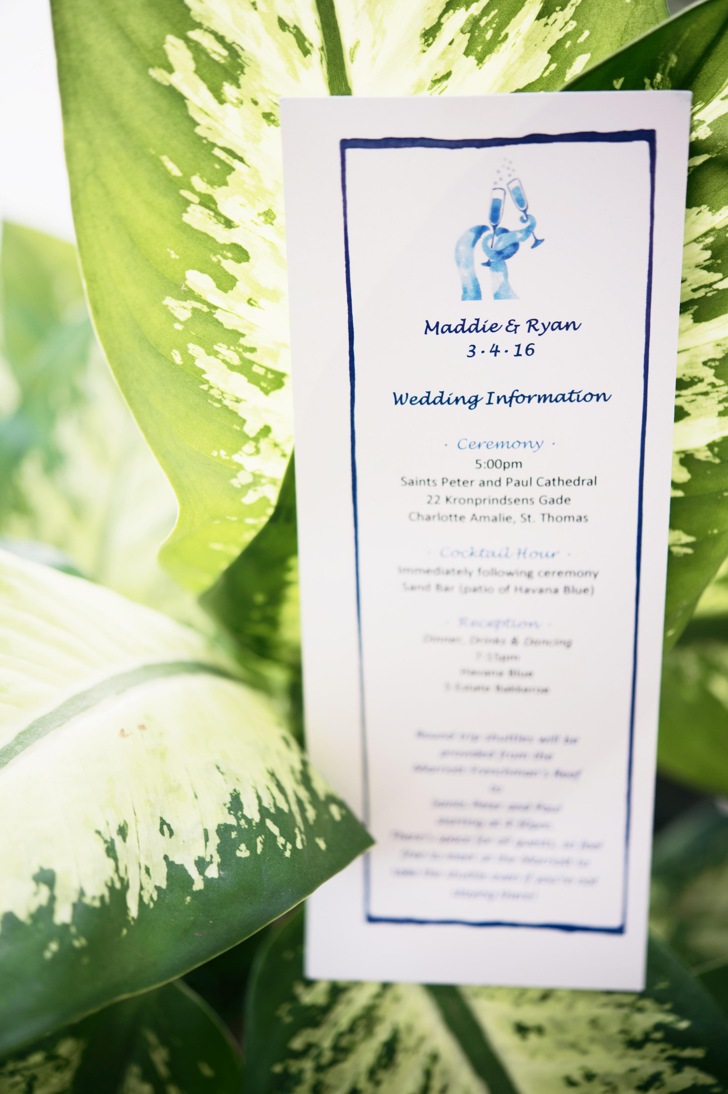 St Thomas US Virgin Islands Wedding