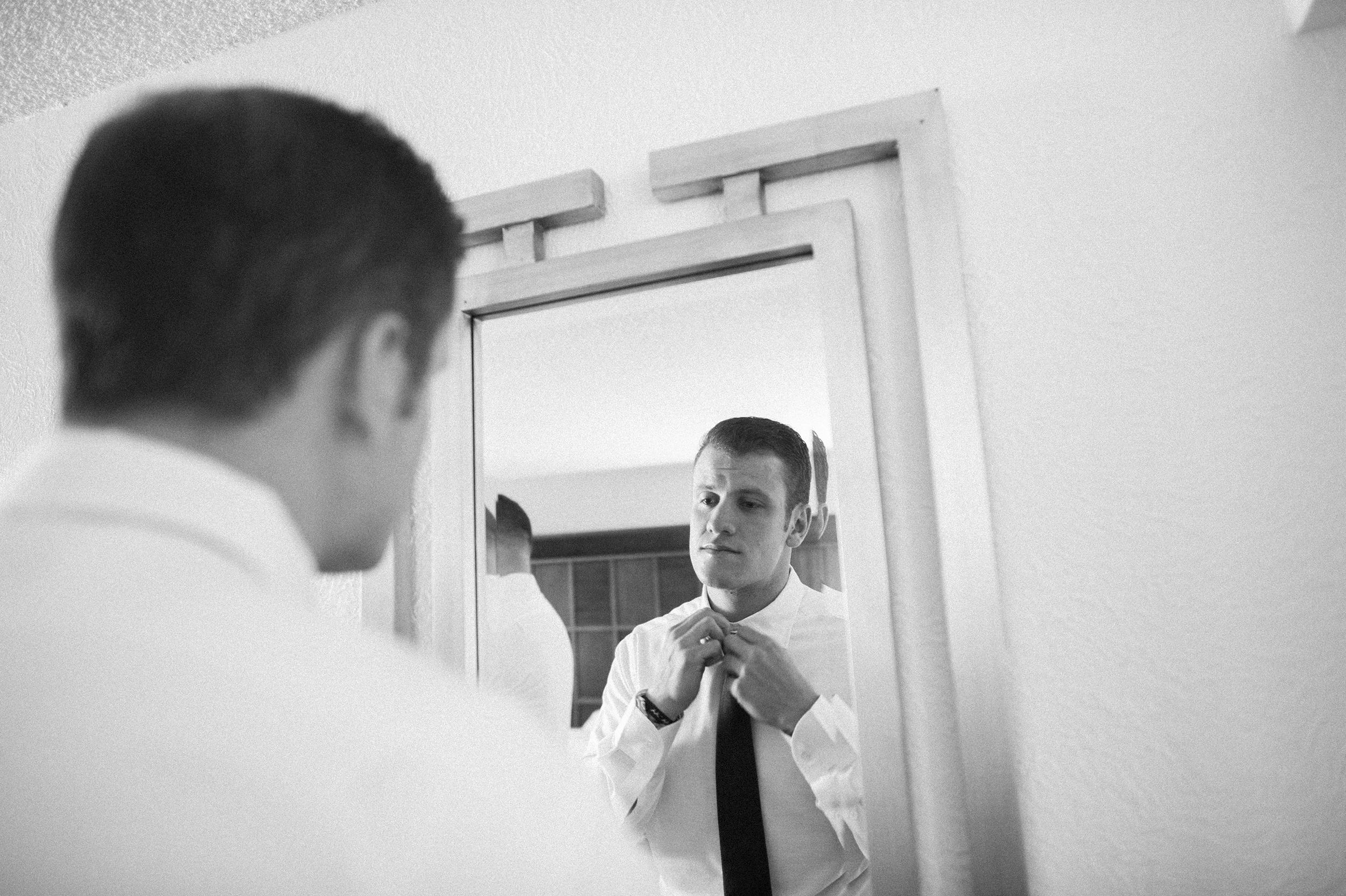 St Thomas USVI wedding groom