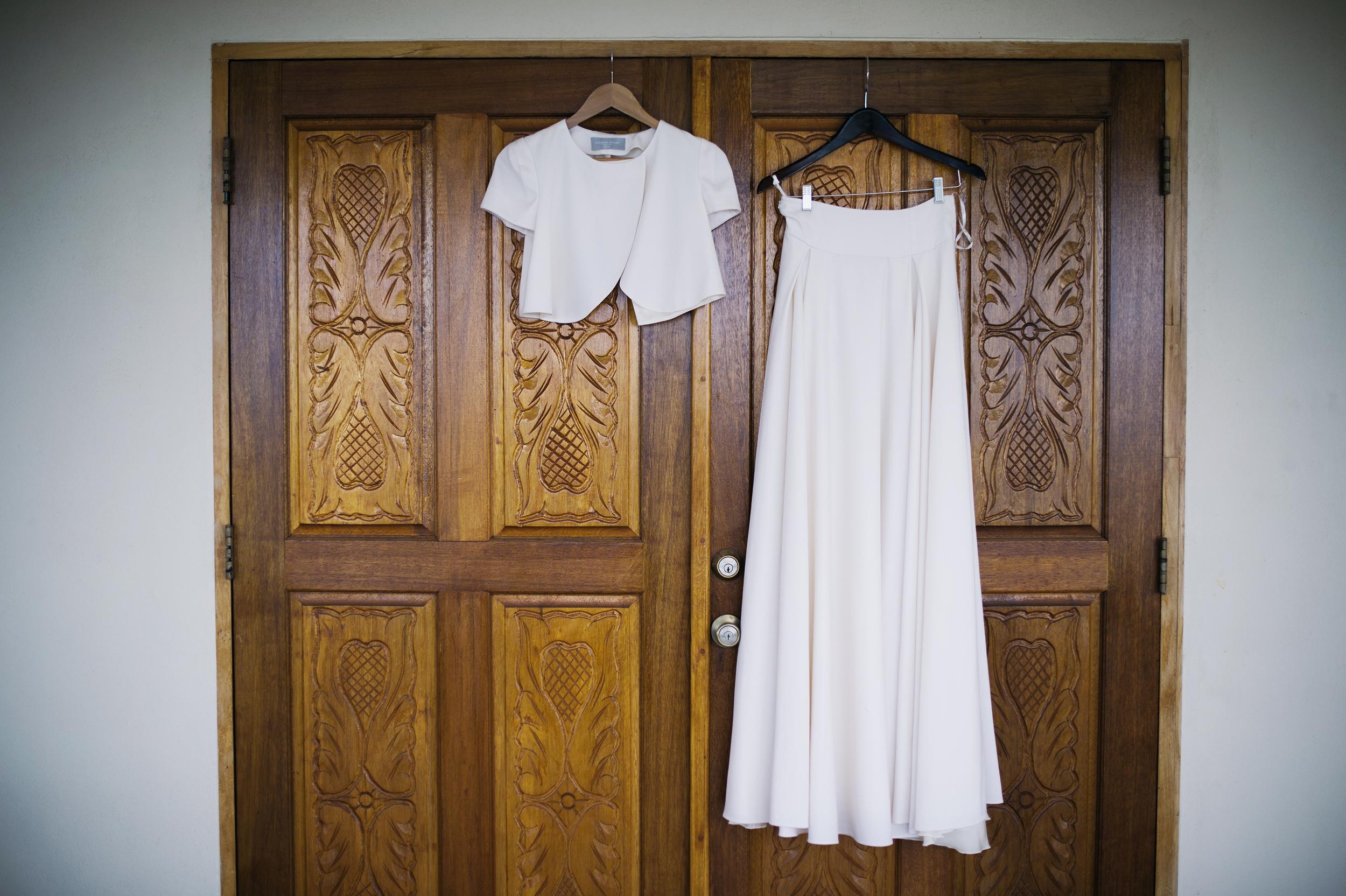 ST Thomas USVI wedding dress