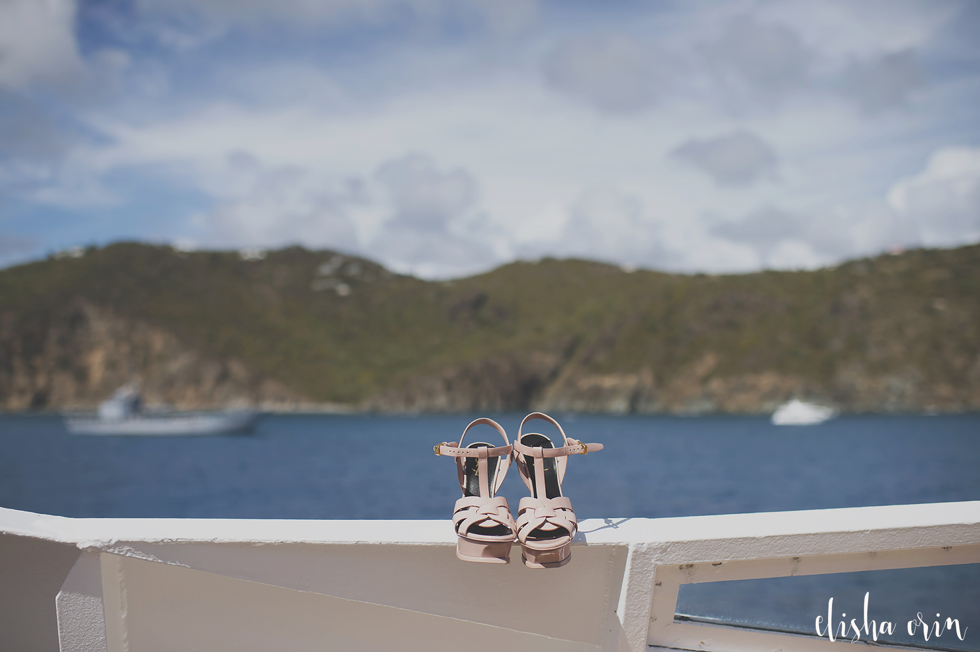 Brides-shoes-on-sea-dream-boat-in-st-barths