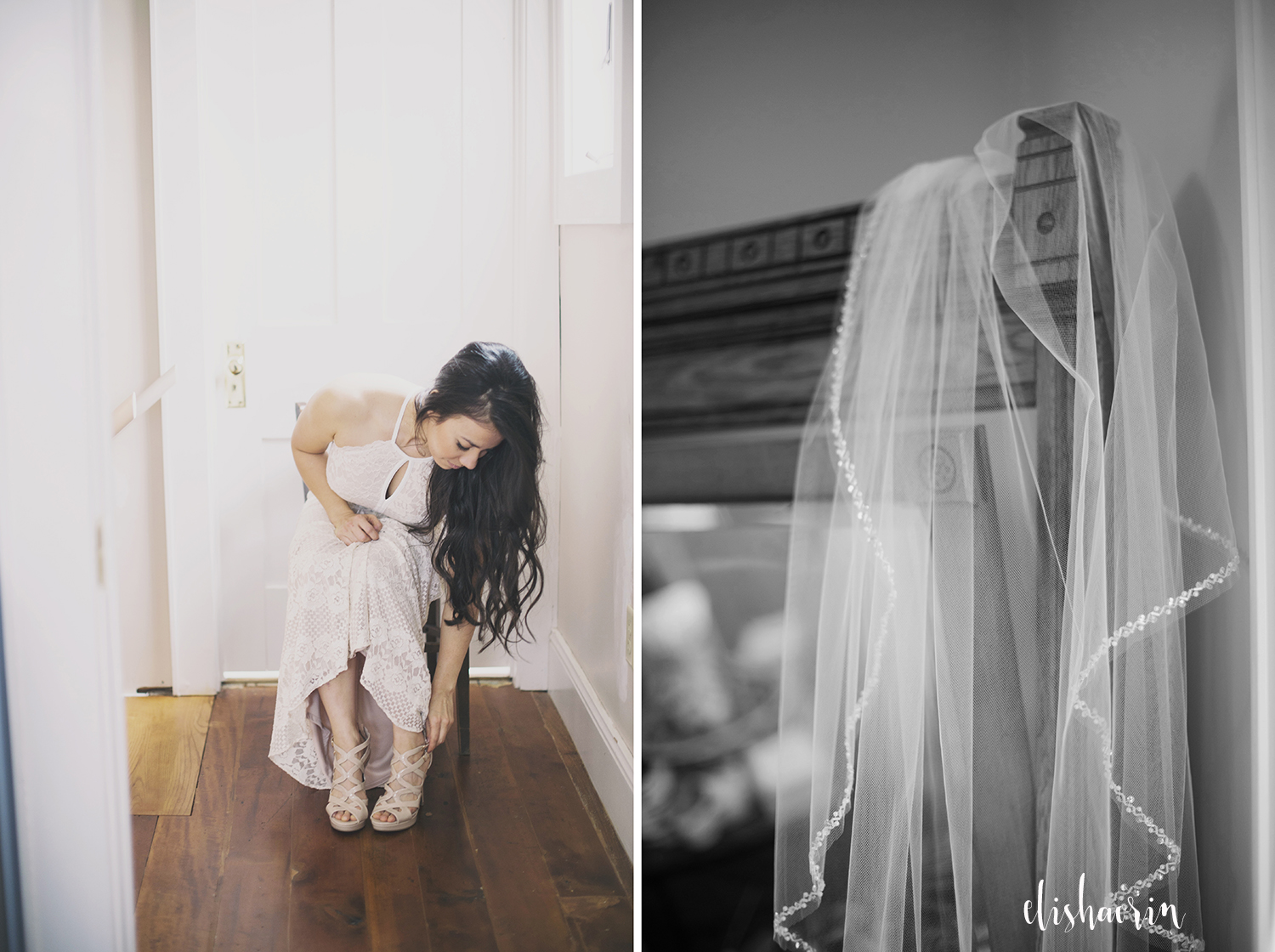 bride-putting-shoes-on