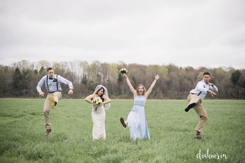 wedding-party-acting-crazy