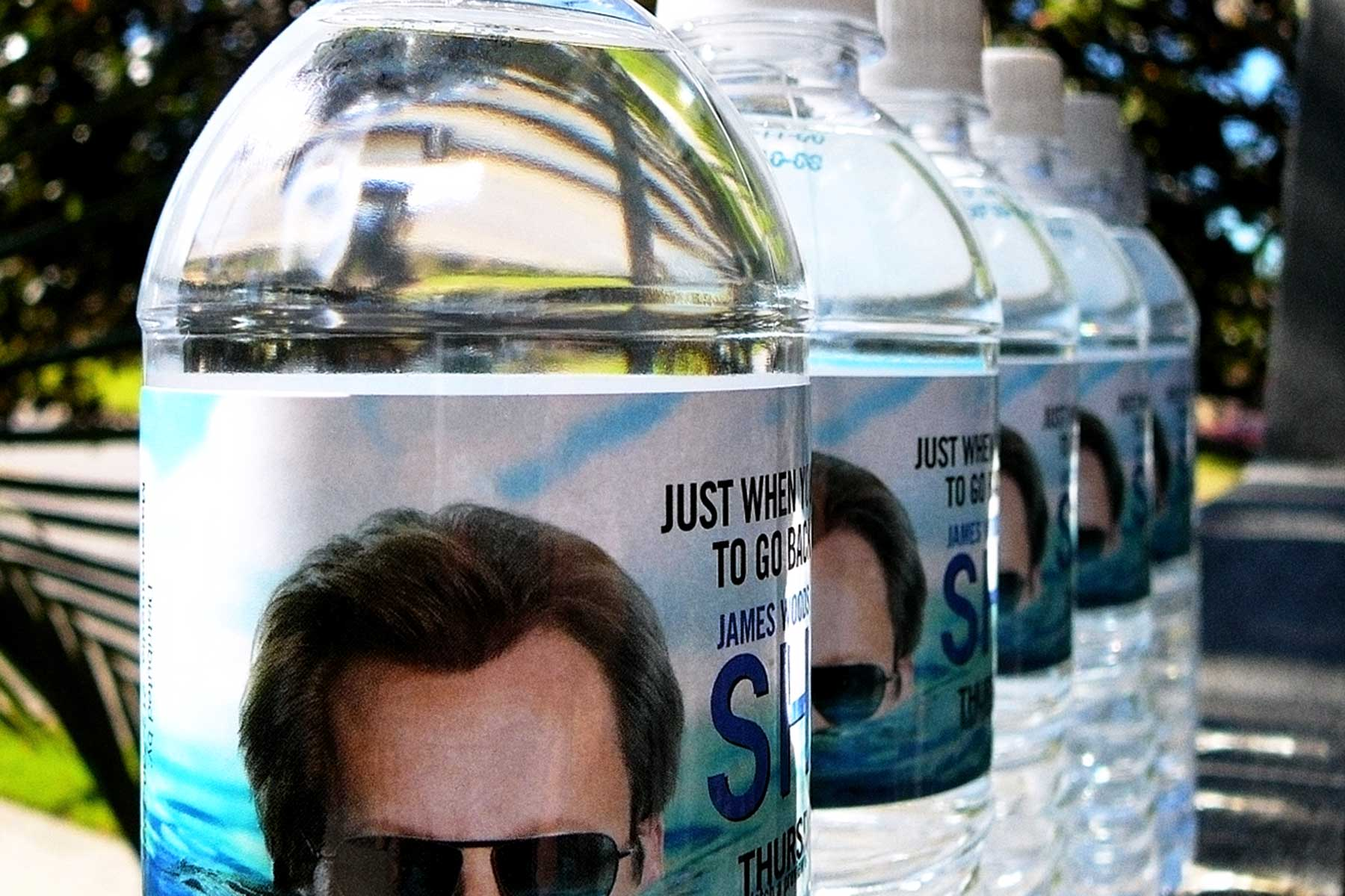 Branded Bottled water