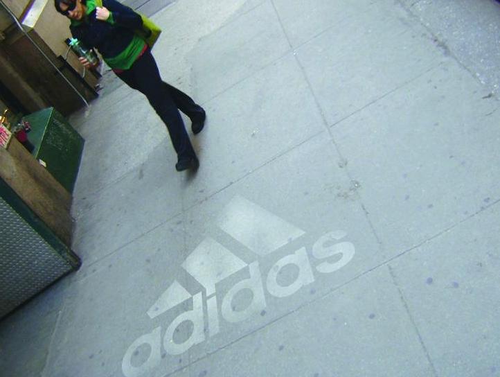 Reverse Graffiti powerwash advertising