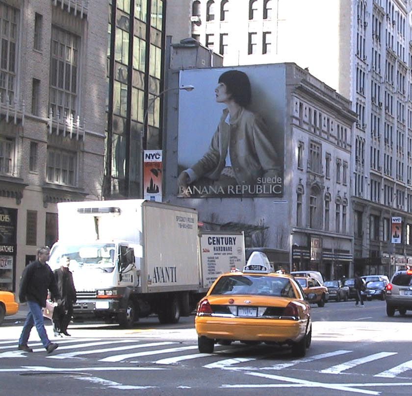 Billboards New York