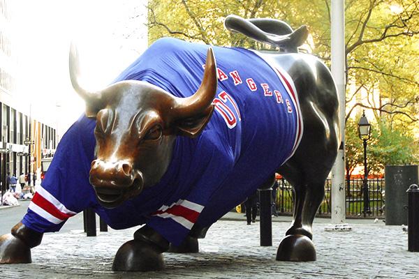 Wall Street Bull Massivemedia