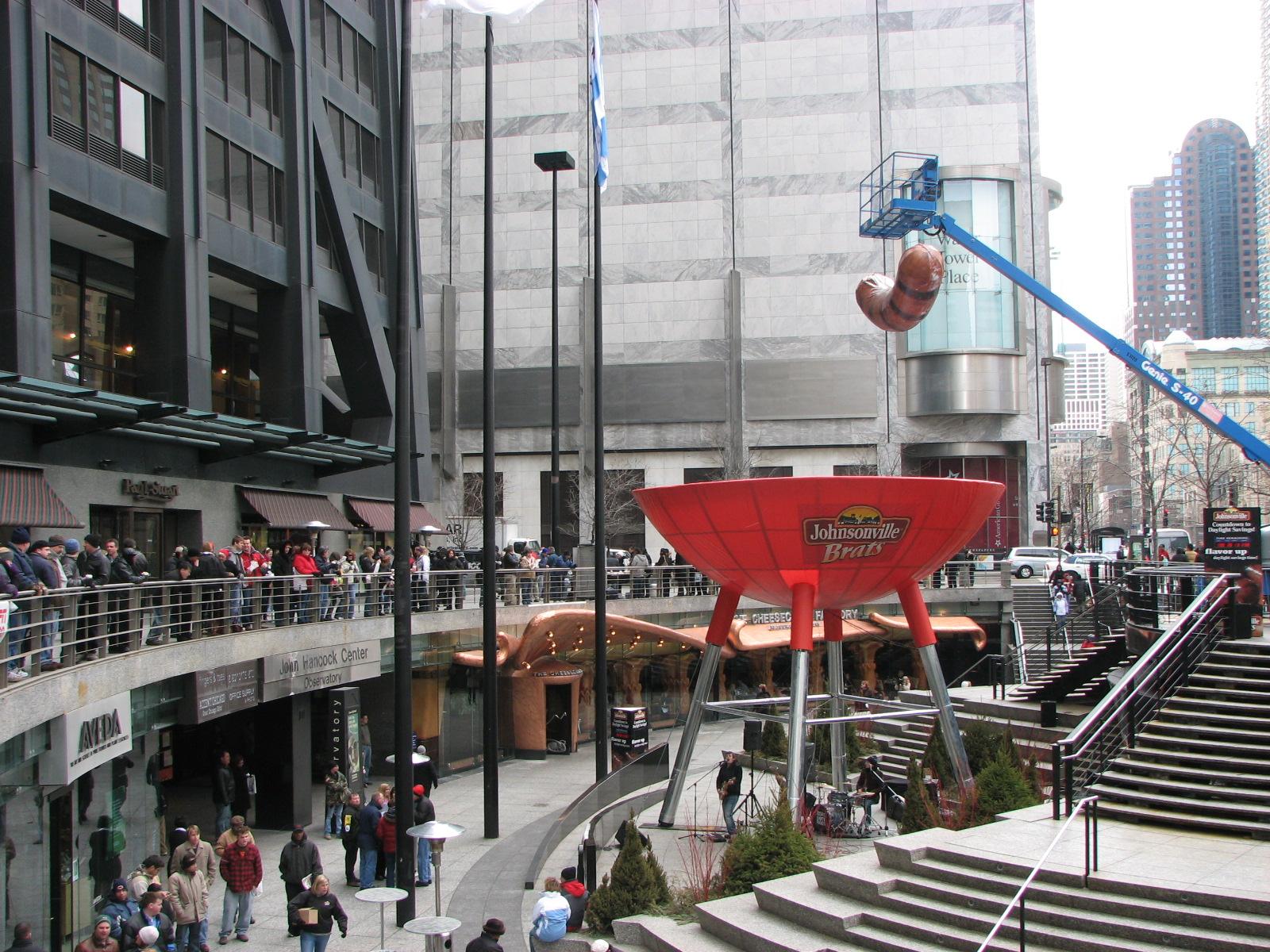 large public marketing installations