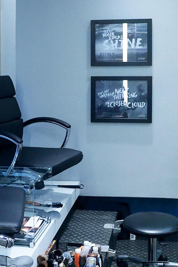 barbershop advertising network