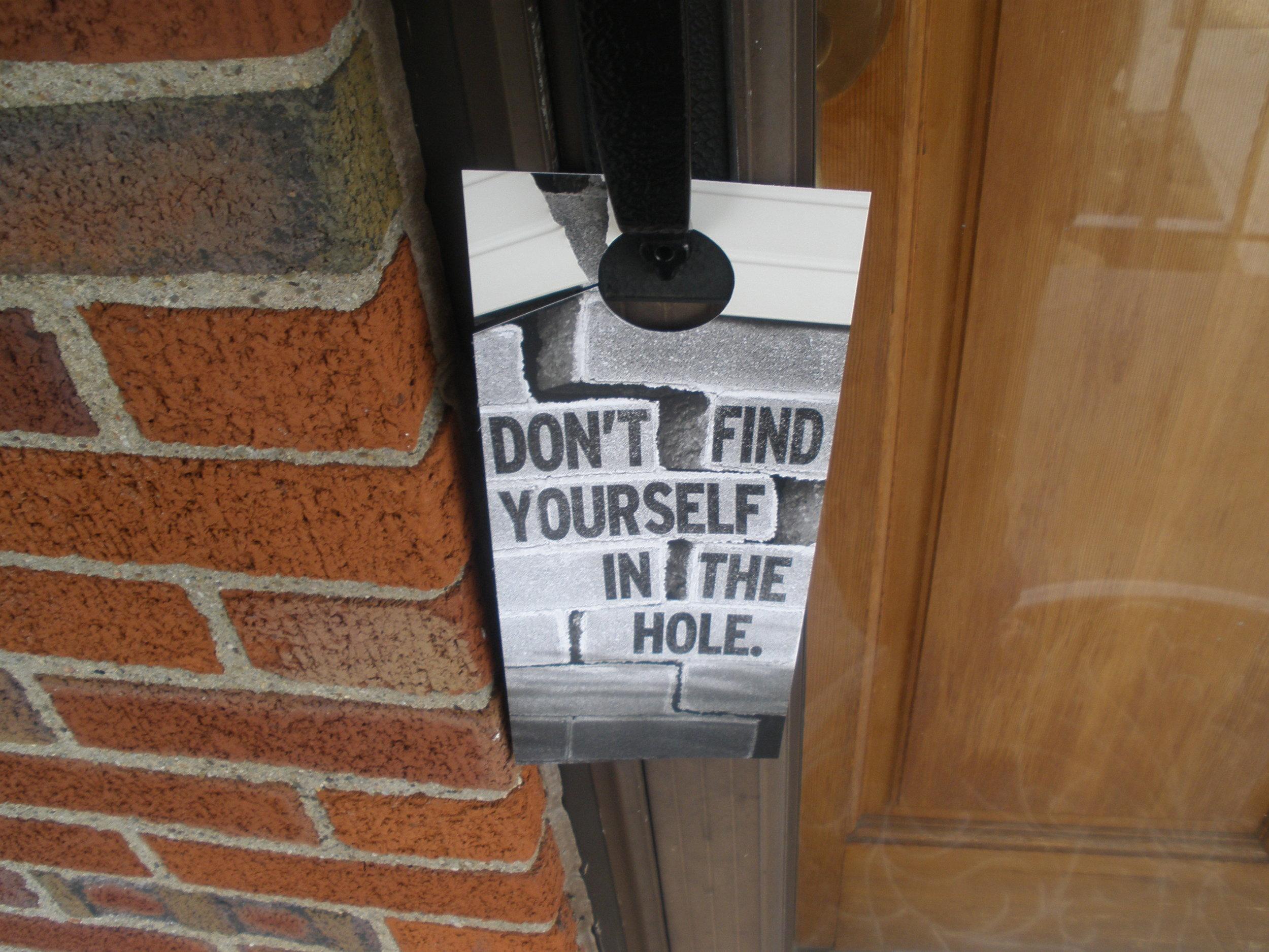 residential door hanger distribution
