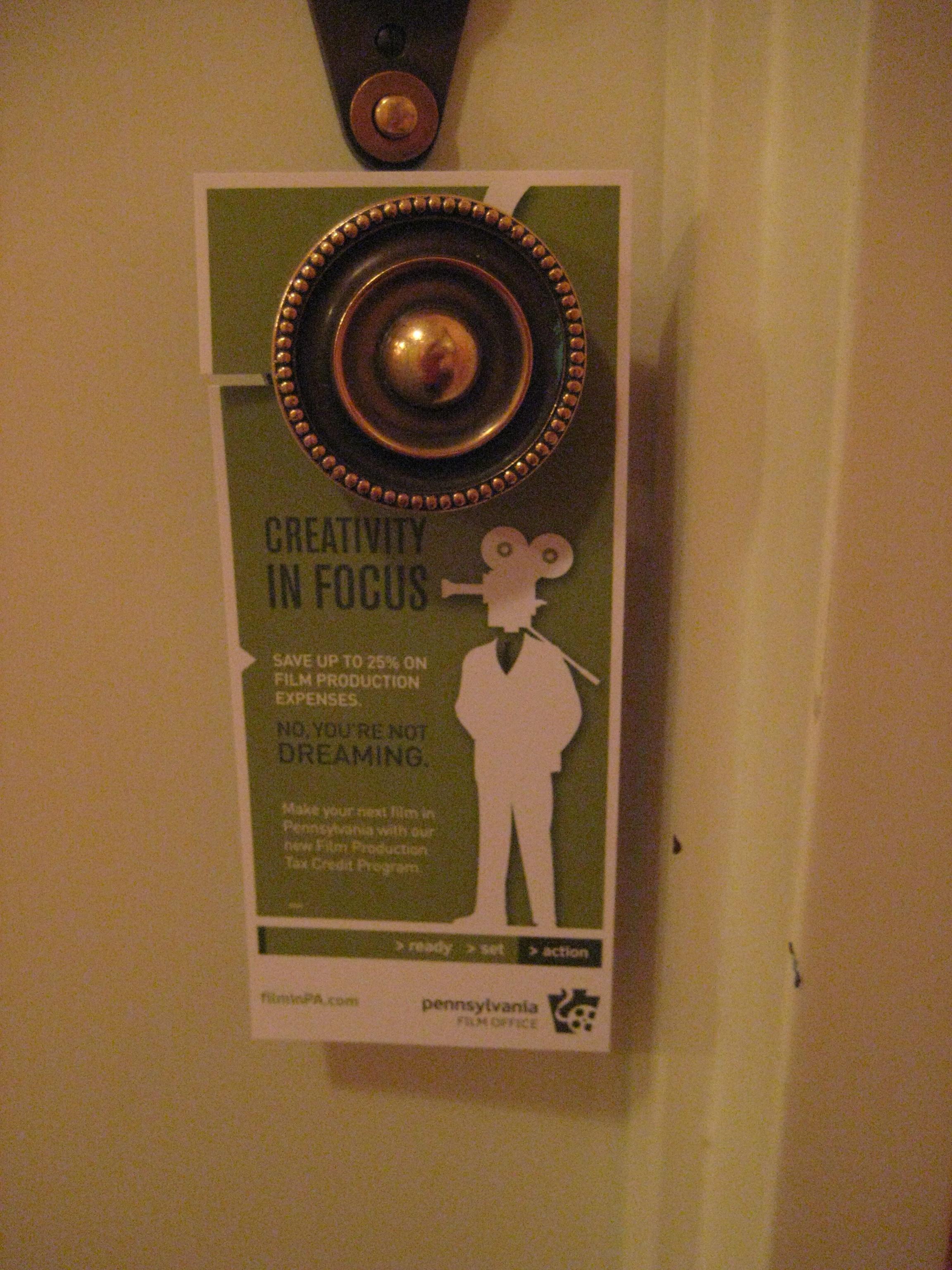 doorhanger advertising