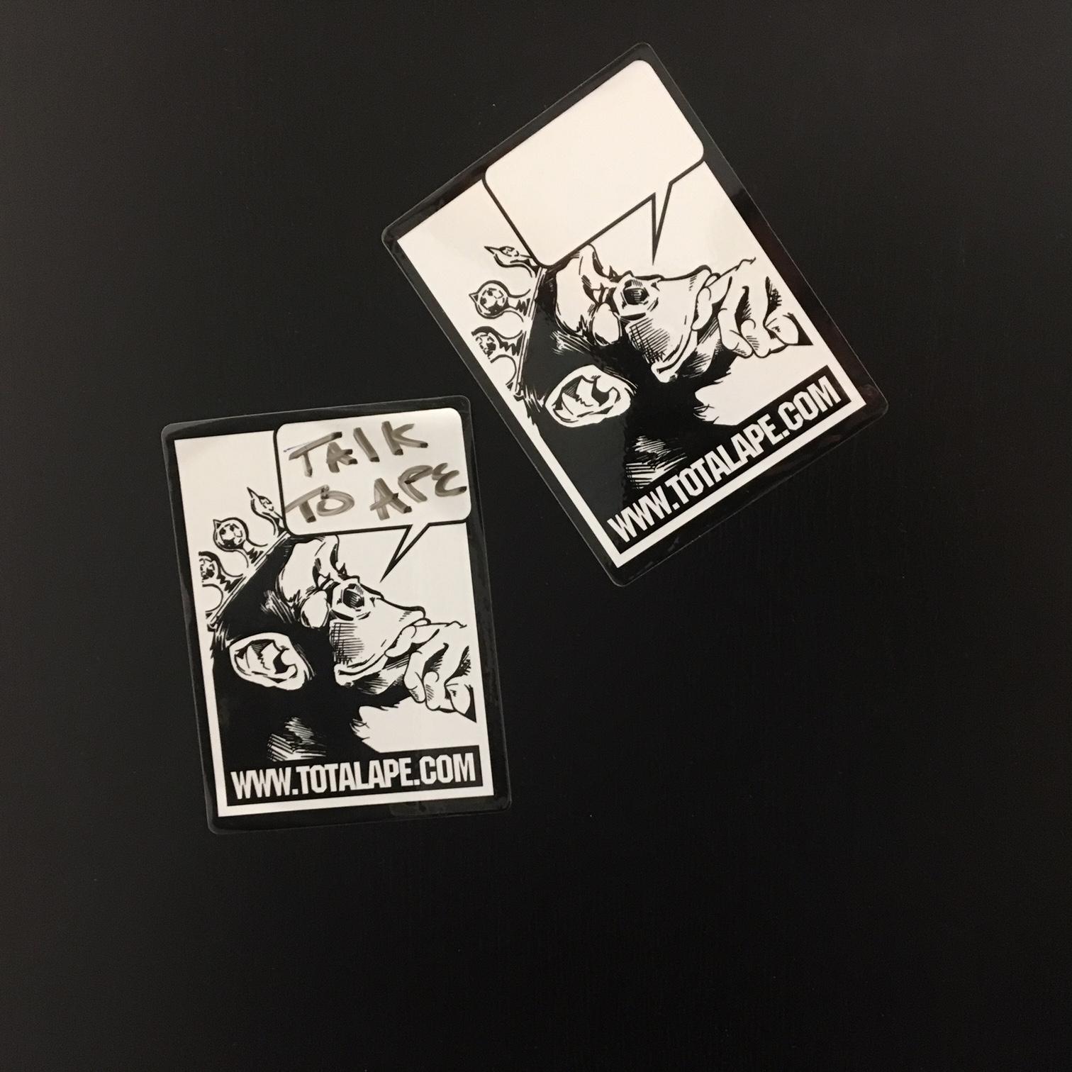 Sticker tagging
