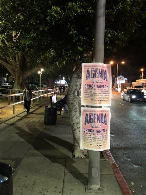 Music festival Poster snipe