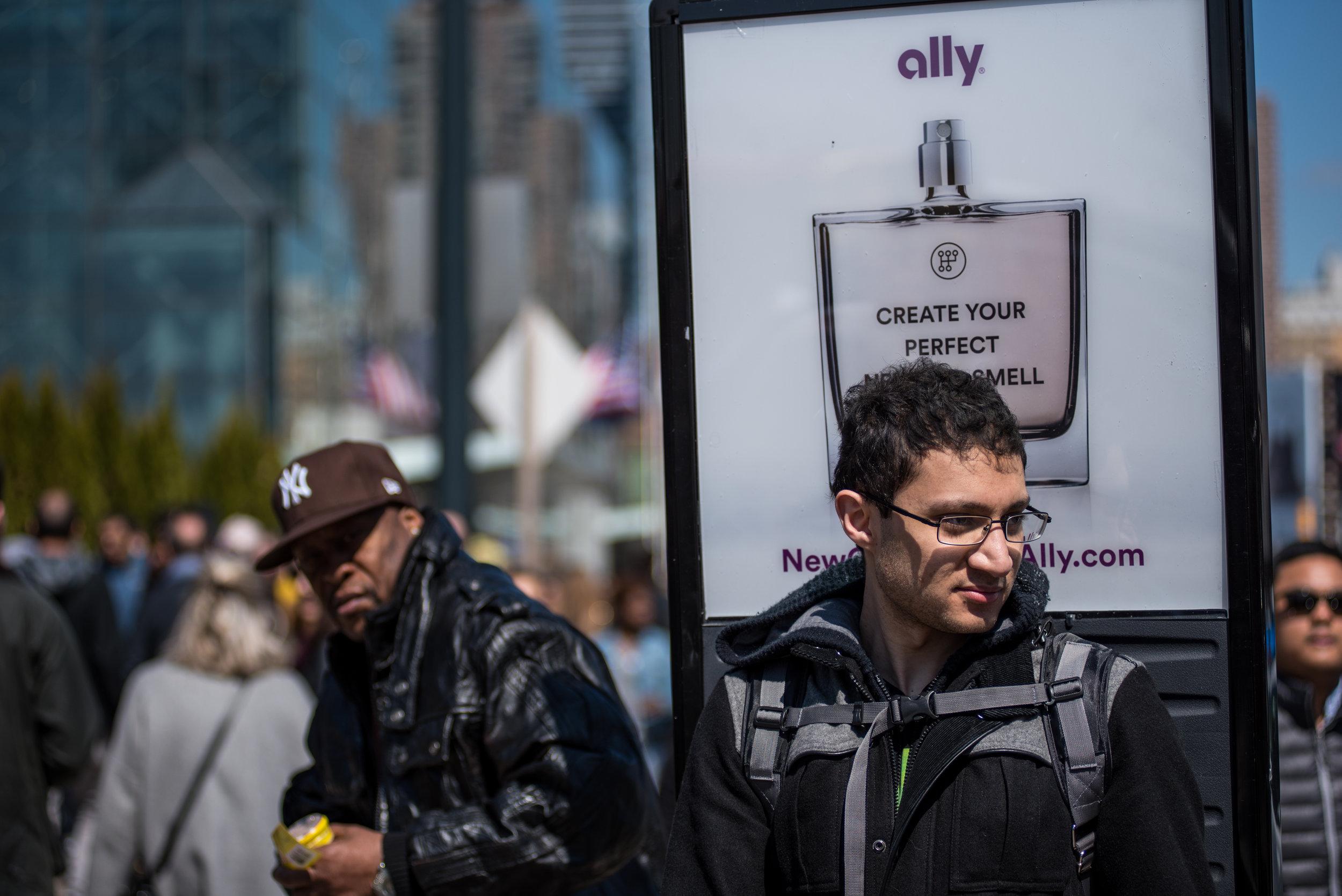 cool billboard backpack