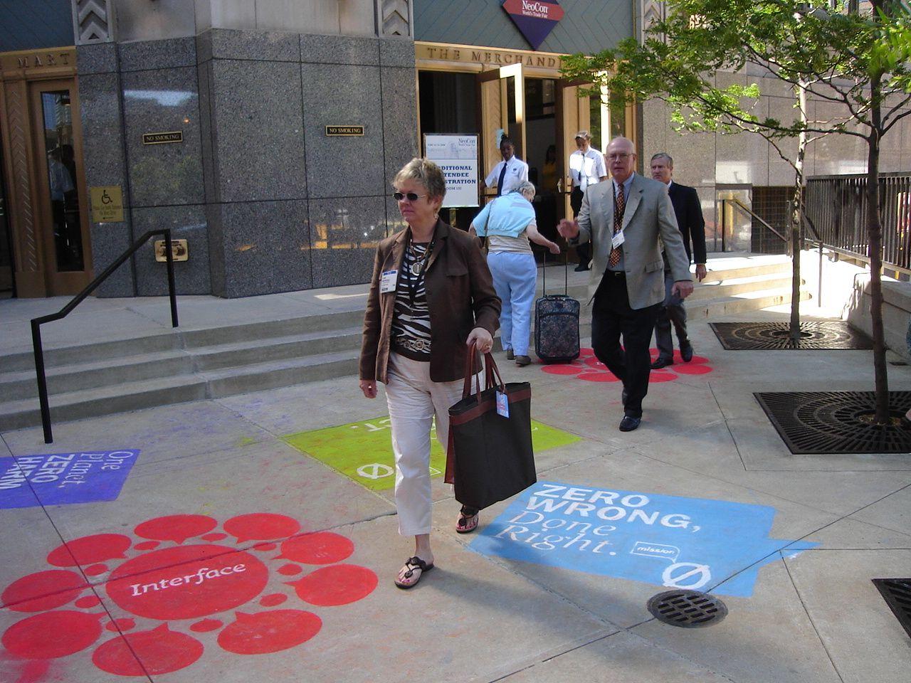 sidewalk advertising ideas