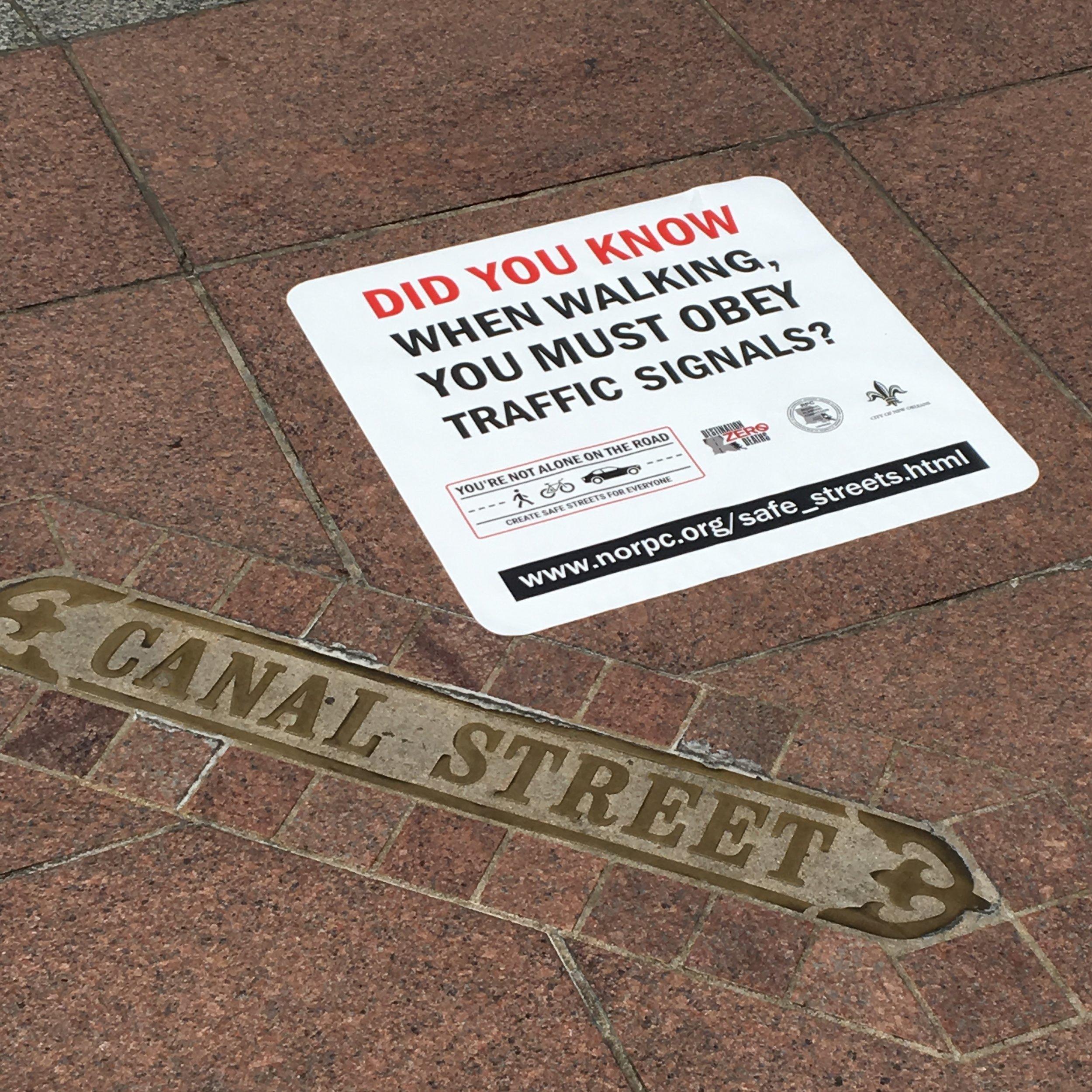 Cool Sidewalk Graphic