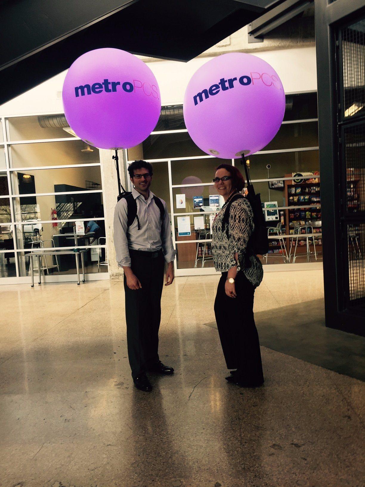 Backpack Balloons at Massivemedia
