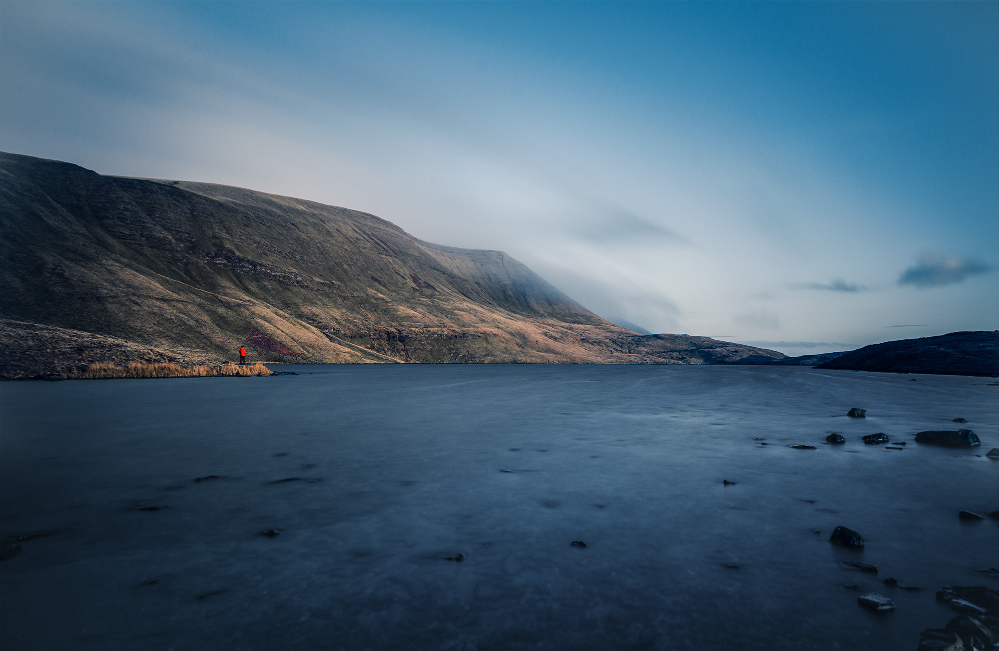Early Morning at Llyn y Fan Fawr, The Brecon Beacons