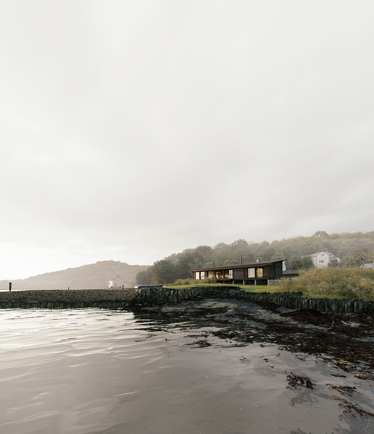Weir Quay Cottage  John Pardey Architects