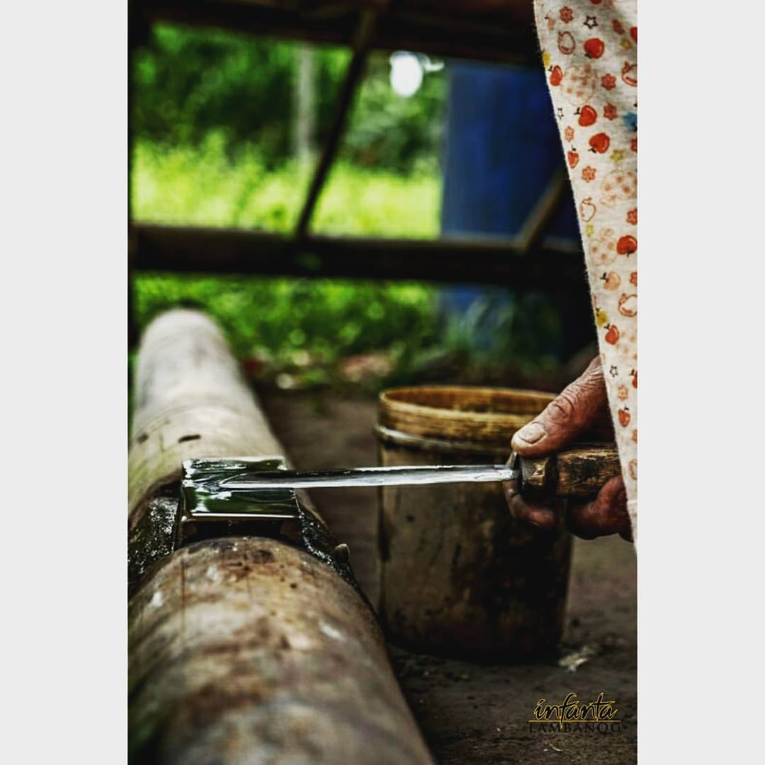 - Panabas, the Manggagarit's blade. He sharpens his tools every morning before the climb.