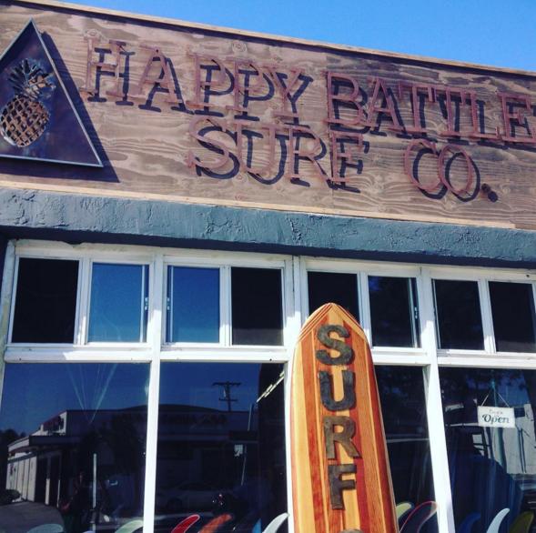 Happy Battle Surf Co. El Cajon, San Diego.