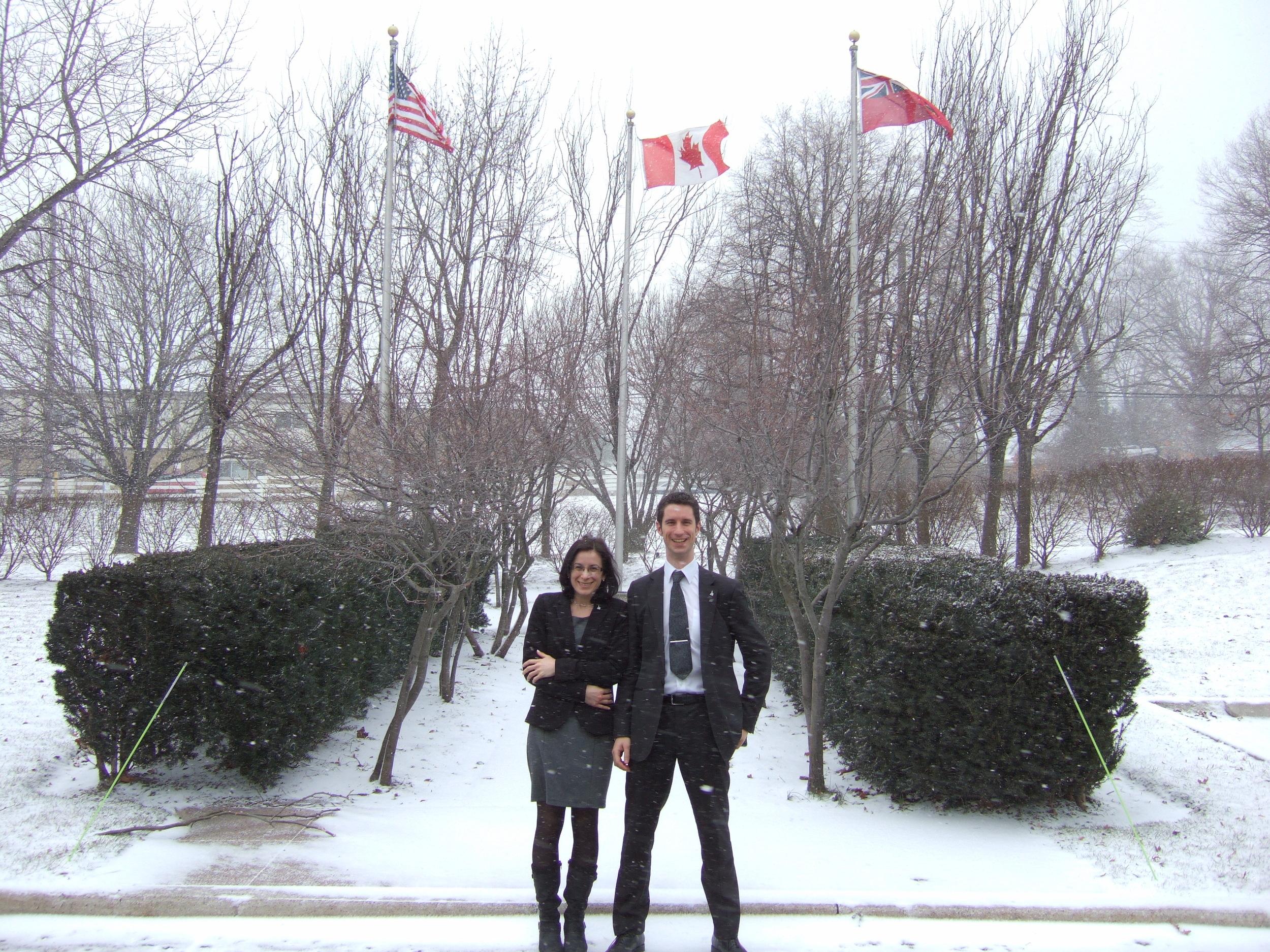 Visiting Janssen in Toronto, Canada