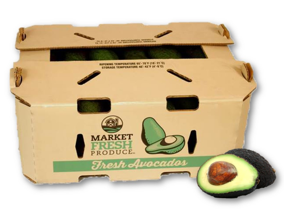 Hass Avocado Bags - We can supply 4 pack Hass avocado bags to meet your consumer needs! Our bags provide the best quality fruit for and are packed 18 bags per case or can be customized to meet your requirements!